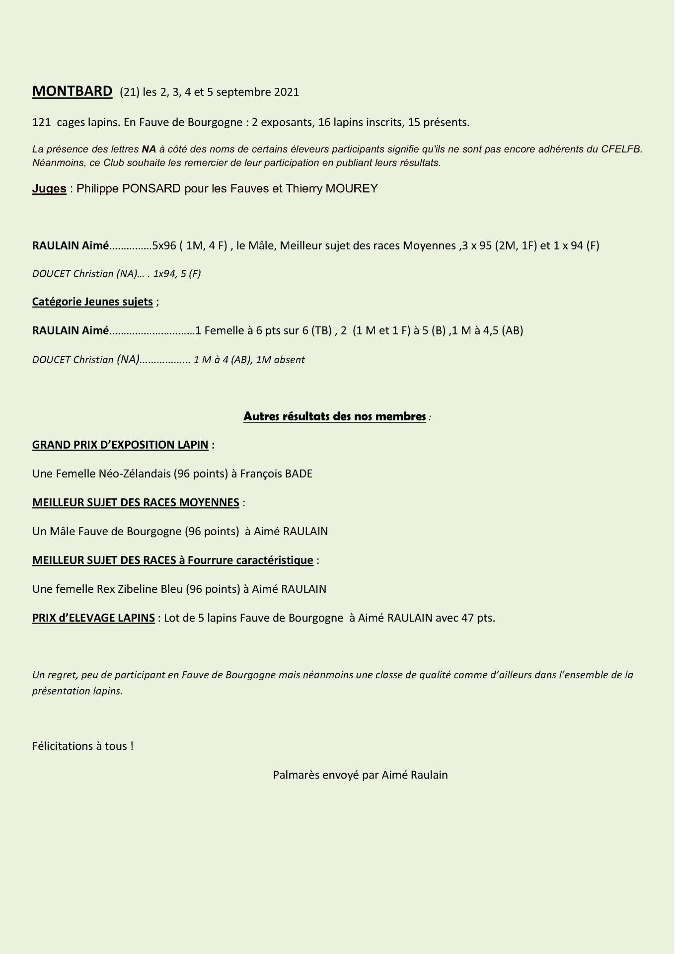 Cr expo montbard 2021 1