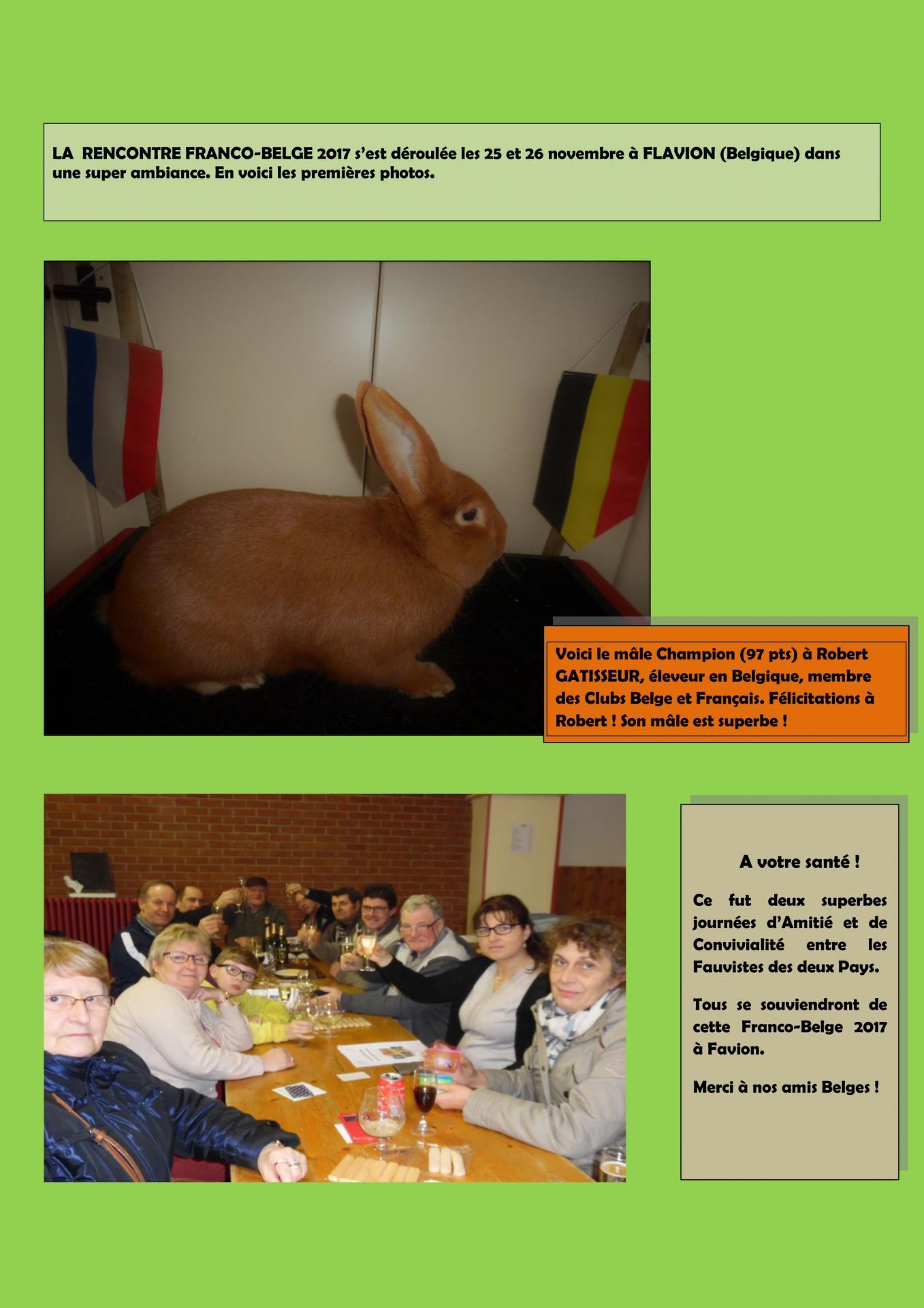 La rencontre franco belge en images 1