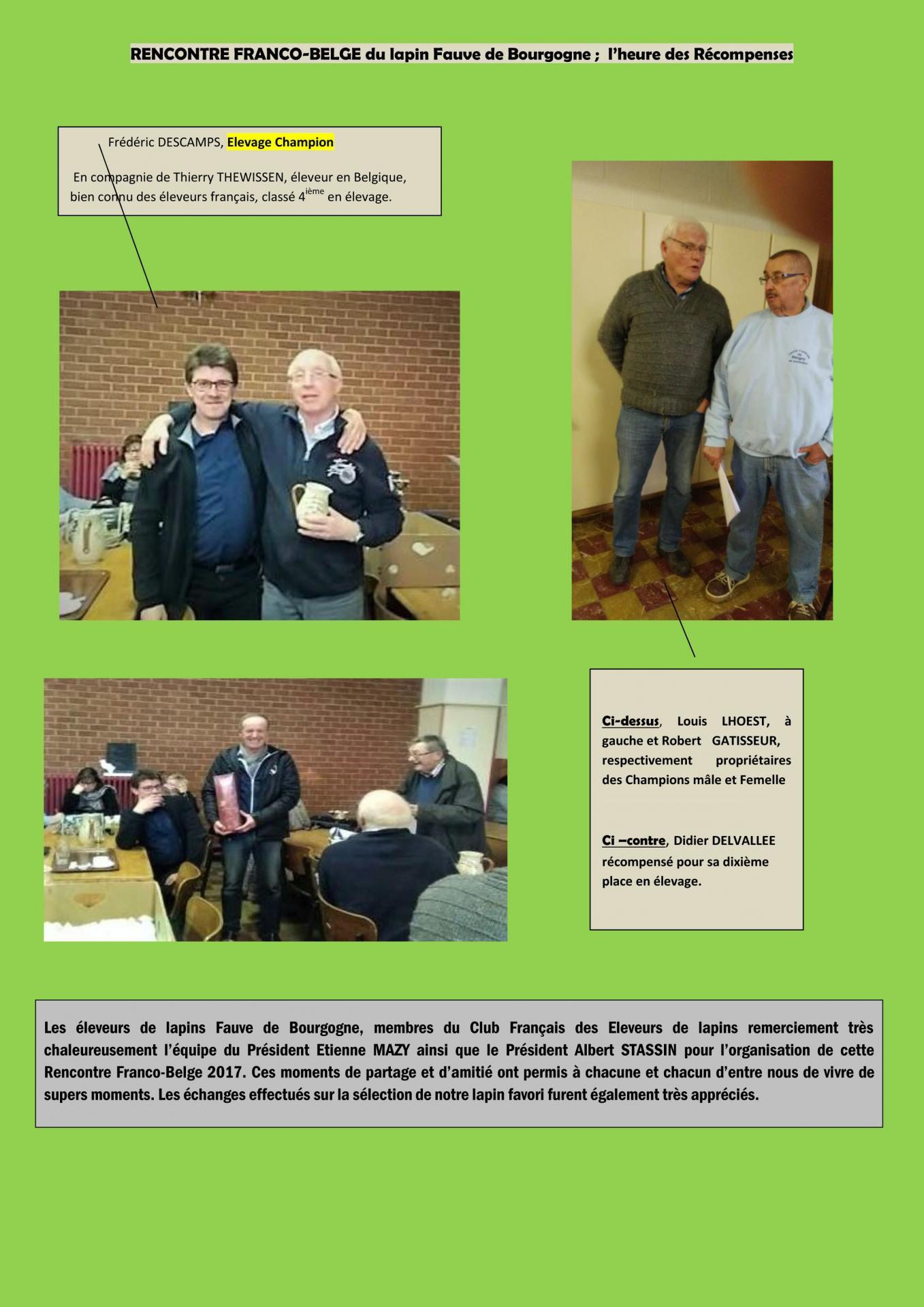 La rencontre franco belge en images 3